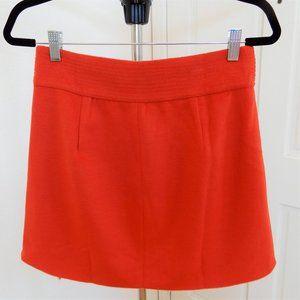 MAJORELLE Skirts - MAJORELLE - Judy Mini Skirt in Red Orange - NWT